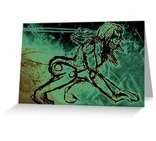 Cold Vengeance Greeting Card