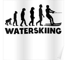 Waterskiing Evolution Poster