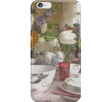 Country Vintage - Cottage No.4 iPhone Case/Skin