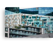 The Cube, Birmingham City centre. Brutalist modern architecture. For gifts, interior design, home decor. Canvas Print