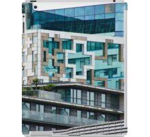 The Cube, Birmingham City centre. Brutalist modern architecture. For gifts, interior design, home decor. iPad Case/Skin
