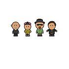 Breaking Bad Characters by janeemanoo