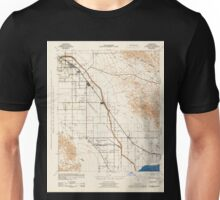 USGS TOPO Map California CA Coachella 297120 1943 62500 geo Unisex T-Shirt