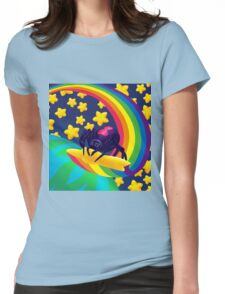 Shooting Star Widow Womens Fitted T-Shirt