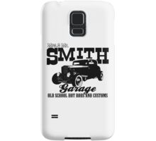 Mrs.& Mr. Smith Hot-Rod Garage Samsung Galaxy Case/Skin