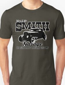Mrs.& Mr. Smith Hot-Rod Garage T-Shirt