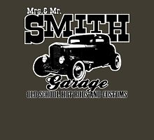 Mrs.& Mr. Smith Hot-Rod Garage Unisex T-Shirt