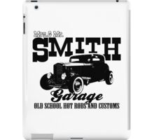 Mrs.& Mr. Smith Hot-Rod Garage iPad Case/Skin