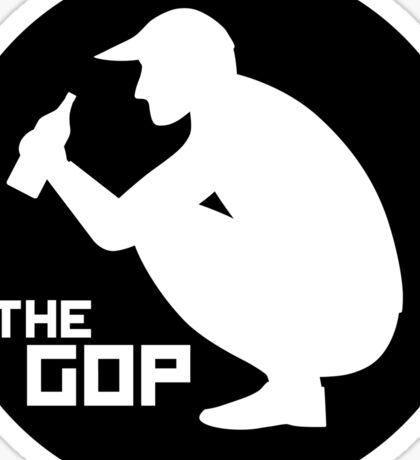 The Gop sticker Sticker