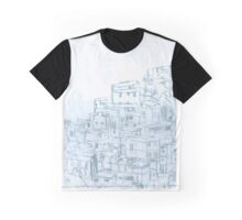 Slums in Brazil - impression Graphic T-Shirt