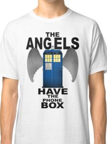 The Angels Have The Phonebox - Doctor Who Classic T-Shirt