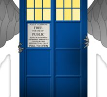 The Angels Have The Phonebox - Doctor Who Sticker