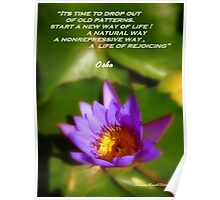 Osho's Words of Wisdom Poster