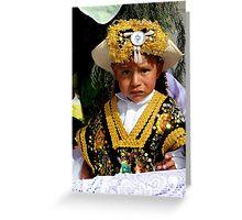 Cuenca Kids 509 Greeting Card