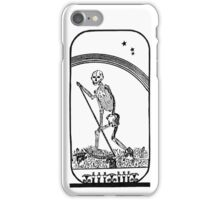 Transformation of the Body - Monochrome iPhone Case/Skin