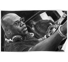 Carl Cox Pencil Drawing Poster