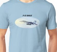 F-15 Eagle With Banner Unisex T-Shirt