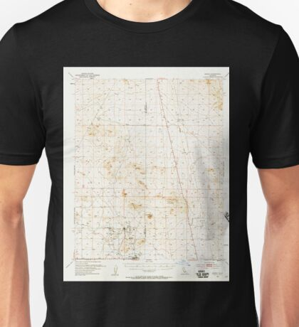 USGS TOPO Map California CA Boron 296869 1954 62500 geo Unisex T-Shirt