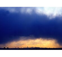 NYC Clouds  Photographic Print