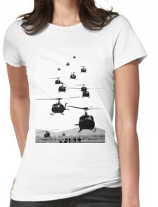 UH1 Huey Helicopters Womens Fitted T-Shirt