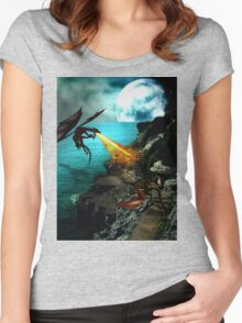 Dragon Wars Women's Fitted Scoop T-Shirt
