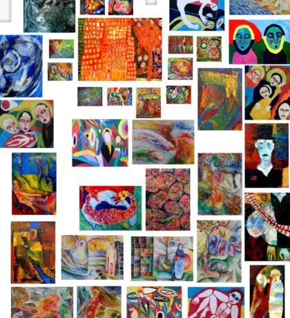 Art Collection Sticker