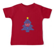 Christmas Cure - Blue Baby Tee