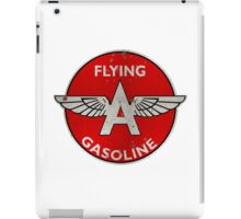 Flying A Gasoline rusted version iPad Case/Skin