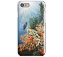 PARROT FISH IN THE CORAL iPhone Case/Skin