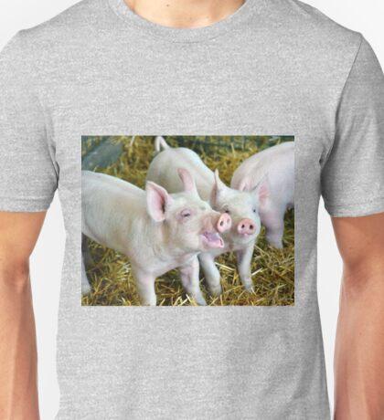 Playful Piggies Unisex T-Shirt
