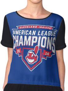 Cleveland Indians Champions World Series 2016 Chiffon Top