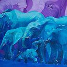 Blue Dream by Tatyana Binovskaya