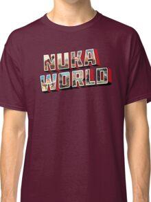 Nuka-Cola Vintage Postcard Classic T-Shirt