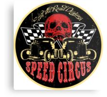 Speed Circus - Hit the Road Designs original art Metal Print