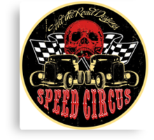 Speed Circus - Hit the Road Designs original art Canvas Print