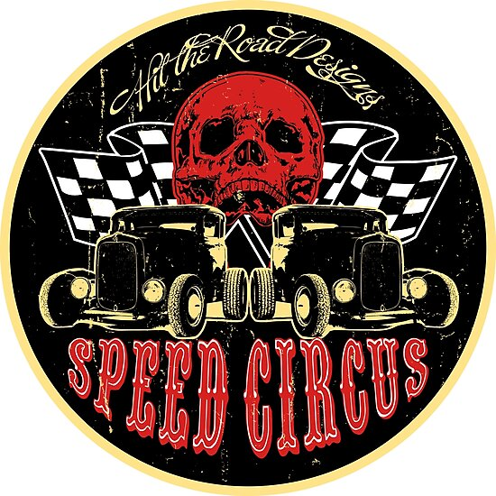 Speed Circus - Hit the Road Designs original art by htrdesigns