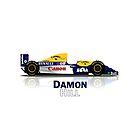 Williams FW15C - Damon Hill by JageOwen
