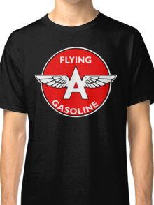 Flying A Gasoline vintage sign Classic T-Shirt