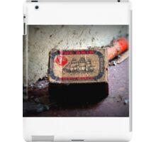 Ship matches iPad Case/Skin