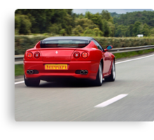 Red Ferrari Canvas Print