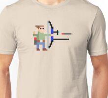 Archery retro arcade 4 Unisex T-Shirt