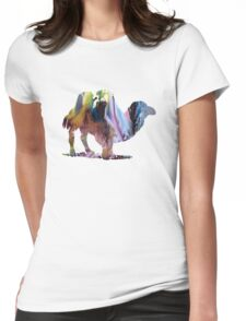 Camel Womens Fitted T-Shirt