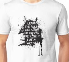 Learn the rules Unisex T-Shirt