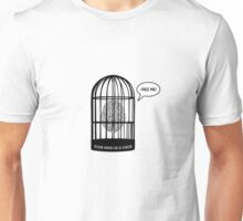 Your mind in a cage Unisex T-Shirt
