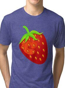 Sweet Strawberry Tri-blend T-Shirt