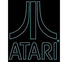 °GEEK° Atari Neon Logo Photographic Print