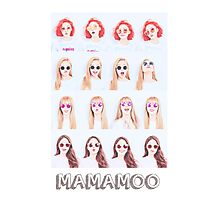 MAMAMOO Photographic Print