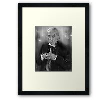 First Doctor Who Framed Print