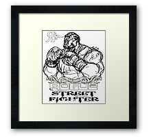 ROGUE STREET FIGHTER Framed Print