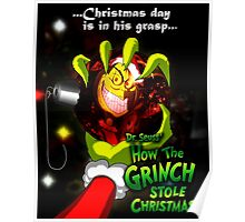 GRINCH FOR CHRISTMAS SMILE Poster